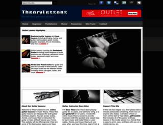 theorylessons.com screenshot