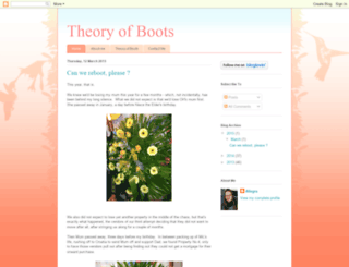 theoryofboots.blogspot.com screenshot