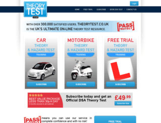 theorytest.co.uk screenshot