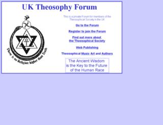 theosophyforum.org.uk screenshot