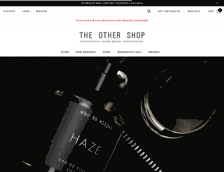 theothershop.com.au screenshot