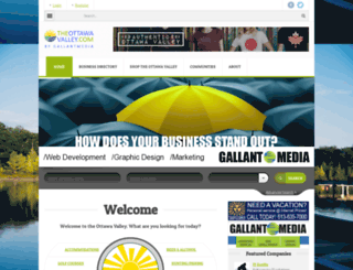 theottawavalley.com screenshot