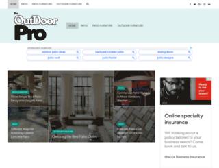 theoutdoorpro.com screenshot