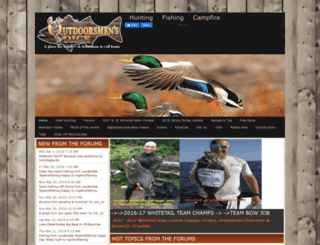 theoutdoorsmensvoice.com screenshot
