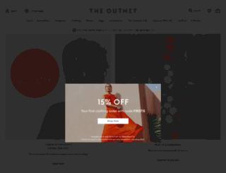 theoutnet.com screenshot