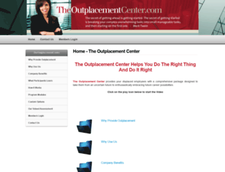 theoutplacementcenter.com screenshot