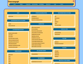 theovangogh.allepaginas.nl screenshot