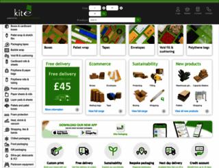 thepackagingstore.co.uk screenshot