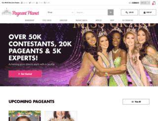 thepageantplanet.com screenshot