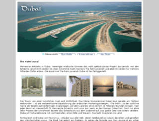 thepalm.dubai-city.de screenshot