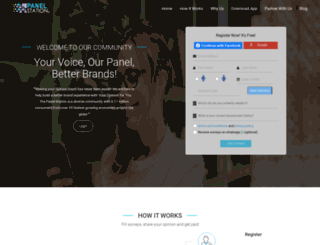 thepanelstation.com screenshot