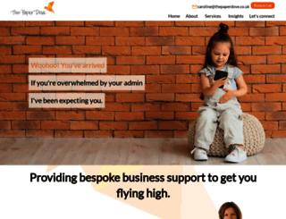 thepaperdove.co.uk screenshot
