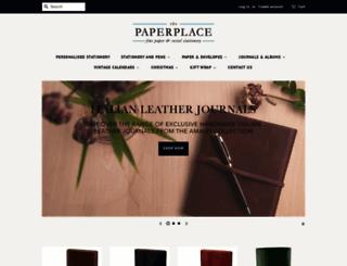 thepaperplace.com.au screenshot