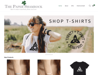 thepapershamrock.com screenshot