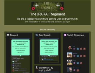 thepara.co.uk screenshot