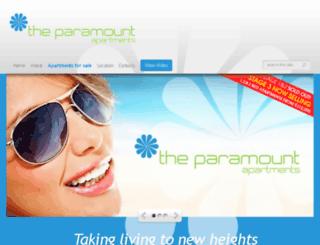 theparamount.net.au screenshot