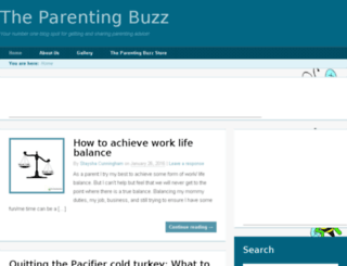 theparentingbuzz.com screenshot