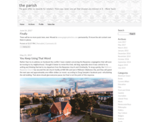 theparish.typepad.com screenshot