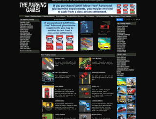theparkinggames.com screenshot