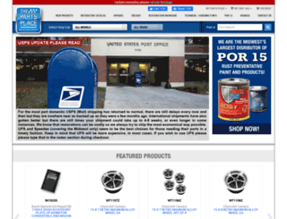 thepartsplaceinc.com screenshot