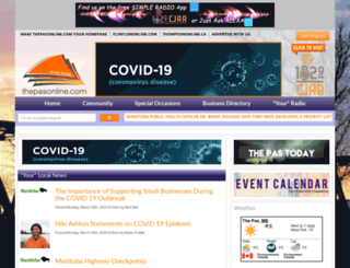 thepasonline.com screenshot