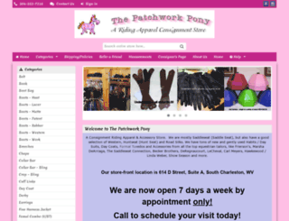 thepatchworkpony.shoprw.com screenshot
