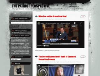 thepatriotperspective.wordpress.com screenshot