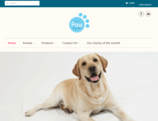 thepawstore.co screenshot