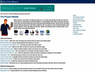 thepcmanwebsite.com screenshot