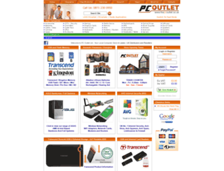 thepcoutlet.co.uk screenshot