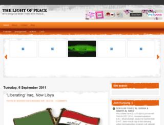 thepeace08.blogspot.com screenshot