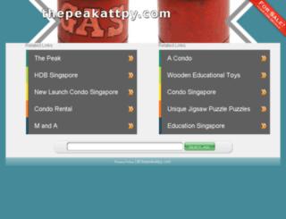 thepeakattpy.com screenshot