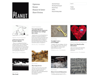thepeanut.ua.edu screenshot