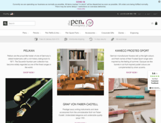 thepencompany.co.uk screenshot