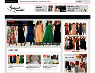 theperfectpalette.com screenshot