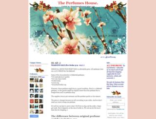 theperfumeshouse.blogspot.com screenshot