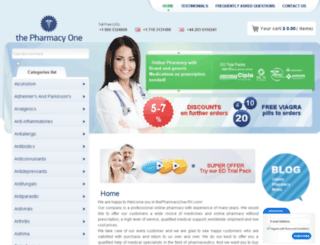 thepharmacyone-24h.com screenshot