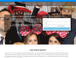 thephotoboothtoronto.com screenshot