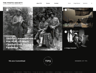 thephotosociety.org screenshot