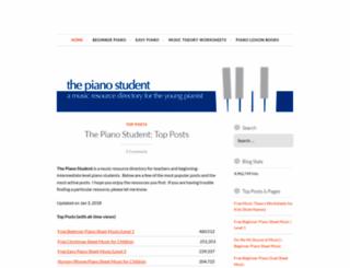 thepianostudent.wordpress.com screenshot