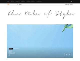 thepileofstyle.com screenshot