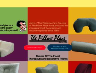 thepillowplace.com screenshot