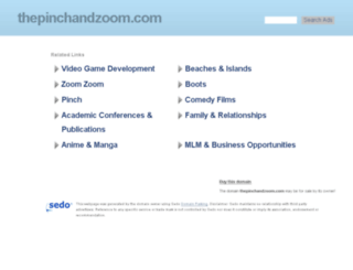 thepinchandzoom.com screenshot
