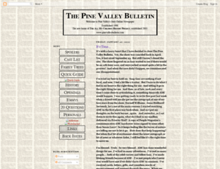 thepinevalleybulletin.blogspot.com screenshot