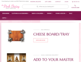 thepinkdaisy.com screenshot