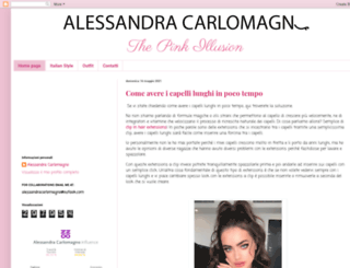 thepinkillusion.blogspot.it screenshot