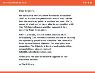 thepitchforkreview.com screenshot