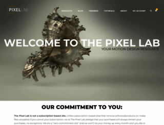 thepixellab.net screenshot
