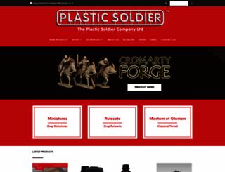 theplasticsoldiercompany.co.uk screenshot