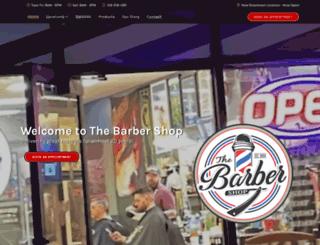 theplazabarbers.com screenshot